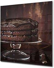 Glasrückwand mit atemberaubendem Aufdruck -
