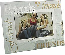 Glass Friends Photo Frame