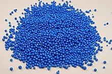 Glassand Farbsand 500g Dekosand Sand Streudeko Dekogranulat Bastelsand RU7 (Blau)
