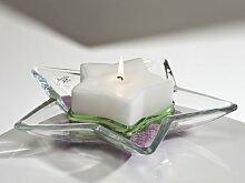 Glasschale Schale Glas Stern ELEGANCE STAR