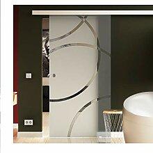 Glasschiebetür für Innenbereich Tür aus Glas