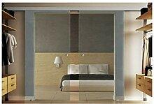Glasschiebetüren mit zwei Scheiben 155x205 cm in