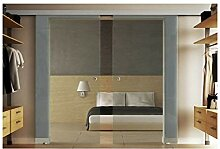 Glasschiebetüren mit zwei Scheiben 180x205 cm in