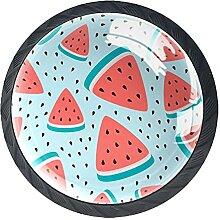 Glasschrank Knöpfe Wassermelone Mit Visuellen
