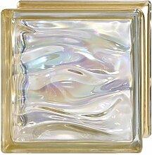 Glasserie Agua Pearl Gold BQ19cm 19x19x8-6 Stück