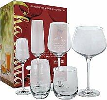Glasserie Charisma 36 Teilig 6 Champagnergläser 6