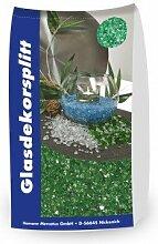Glassplitt Grün 5-10mm 15 kg Sack Glasschotter