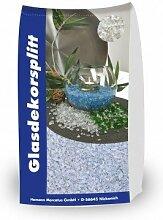 Glassplitt Weiß 5-10mm 15 kg Sack - Glasschotter