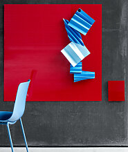 Glastafel Lintex Mood Wall Silk 100 x 100 cm