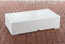 Glastisch Mendez Sansibar Home Farbe: Weiß