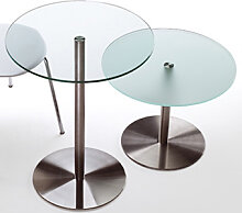 Glastisch Rexite Desco 60 cm Auswahl Farbe