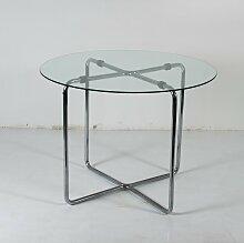 Glastisch von Marcel Breuer für Thonet, 1930er