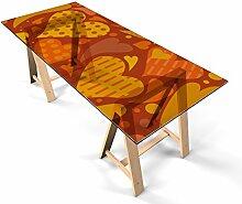 Glastischfolie Dekofolie Klebefolie für Glastisch