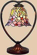 Glastischlampe in Herzform Schlafzimmer Wohnzimmer
