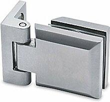Glastür-Scharnier für Glas-Wand-Montage für