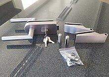 Glastürbeschlag-Set,PZ abschließbar
