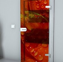 Glastürfolie Transparent selbstklebend