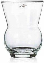 Glasvase, Dekoglas SPRING 3 H. 19cm D. 13,5cm rund