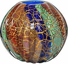 Glasvase Vase Glas im Murano Antik Stil 22cm