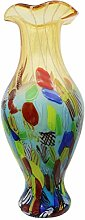 Glasvase Vase Glas im Murano Antik Stil 50cm