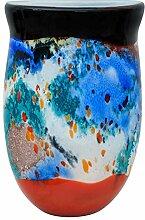 Glasvase Vase Glas im Murano Stil Antik Stil 35cm
