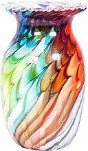 Glasvase Vase Glas im Stil Murano Antik Stil 28cm