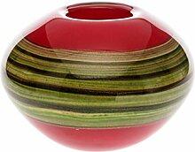 Glasvase Vase im Murano Stil Glass vase schwere