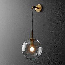 Glaswandlampe Creative Ball Wandlampe Moderne