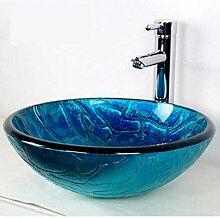 Glaswaschbecken Waschraum Einfach und modisch