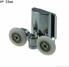 Glatte Dusche Tür Räder 23mm Dusche Tür Rollen unten 4