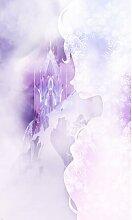 Glatte Fototapete Frozen Winter Mist 2 m x 120 cm