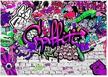 Glatte Fototapete Graffiti LoftDesigns