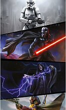 Glatte Fototapete Star Wars Moments Imperials 2 m
