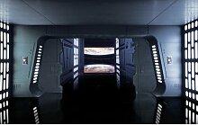 Glatte Fototapete Star Wars Todessternebene, 2,5 m
