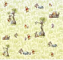 Glatte Fototapete Winnie Pooh Friends 2,8 m x 300
