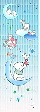 Glatte Fototapete Winnie Pooh Piglet And Stars 2,8