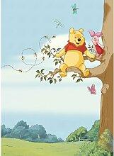 Glatte Fototapete Winnie Pooh Tree 2,54 m x 184 cm