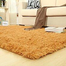 Glatte Seide und Wolle Teppiche/Wohnzimmer Couchtisch Wohnzimmer Sofa und Teppich-A 120x160cm(47x63inch)