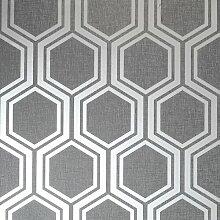 Glatte Tapete Hexagon 1 m x 53 cm ScanMod Design