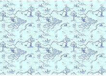 Glattee Fototapete Winnie Pooh Pat 2,8 m x 400 cm