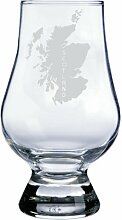 GLENCAIRN Whiskyglas mit Schottland-Motiv