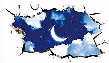 GLF 3D Stereo Tapete Aufkleber Kreativ Kreativ Klebrig Tapete Schlafsaal Schlafsaal Schlafzimmer Nachttisch Dekorativ Wandaufkleber Poster Papier,8