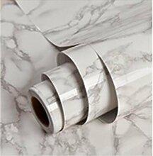 GLF Verdickte Selbstklebende Tapete Wasserdichte Marmor Laufband Tisch Schrank Aufkleber Wohnzimmer Hintergrund Alte Möbel Renovierung Aufkleber Wallpaper,1