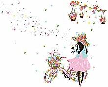 GLF Wohnzimmer Warmes Schlafzimmer Bedside Wallpaper Dekorationen Selbstklebende Wandaufkleber Aufkleber Kinderzimmer Mädchen Hintergrund Tapete,4