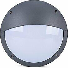 Glighone 12W LED Außenwandleuchte Wandleuchte