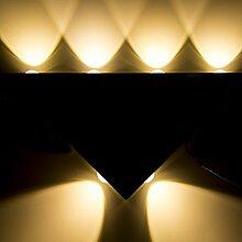 Glighone 18W LED Wandleuchte Wandlampe Innen Up