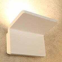 Glighone 20W LED Wandleuchte Innen Wandlampe Weiss
