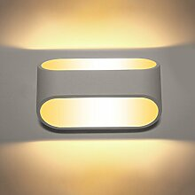 Glighone 5W LED Wandleuchte Innen Warmweiß