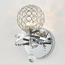 Glighone Kristall LED Wandleuchte Kristalllampe