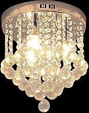 Glighone LED Kristall Deckenleuchte Deckenlampe